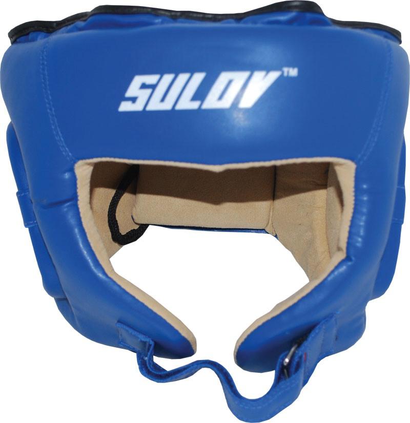 Chránič hlavy otevřený SULOV DX, vel. L, modrý