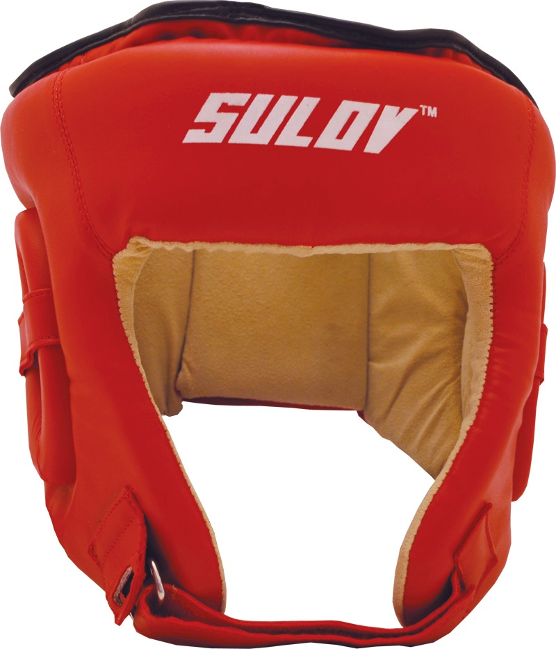 Chránič hlavy otevřený SULOV DX, vel. L, červený