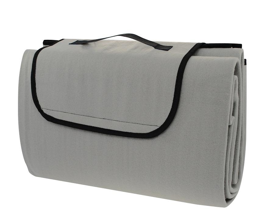 Pikniková deka CALTER CUTTY, 150x130 cm, šedá