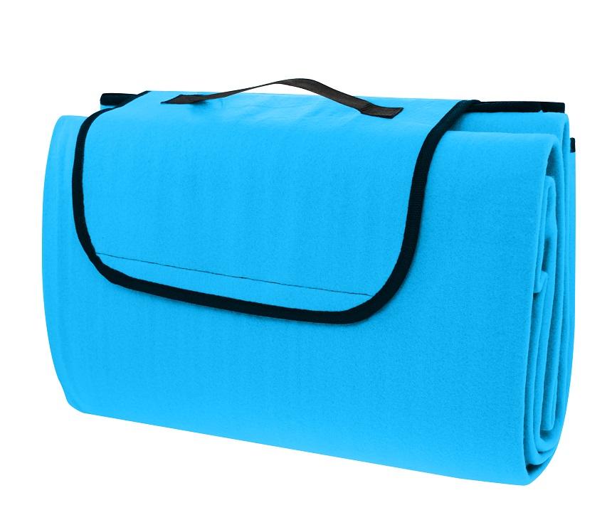 Pikniková deka CALTER CUTTY, 150x130 cm, modrá