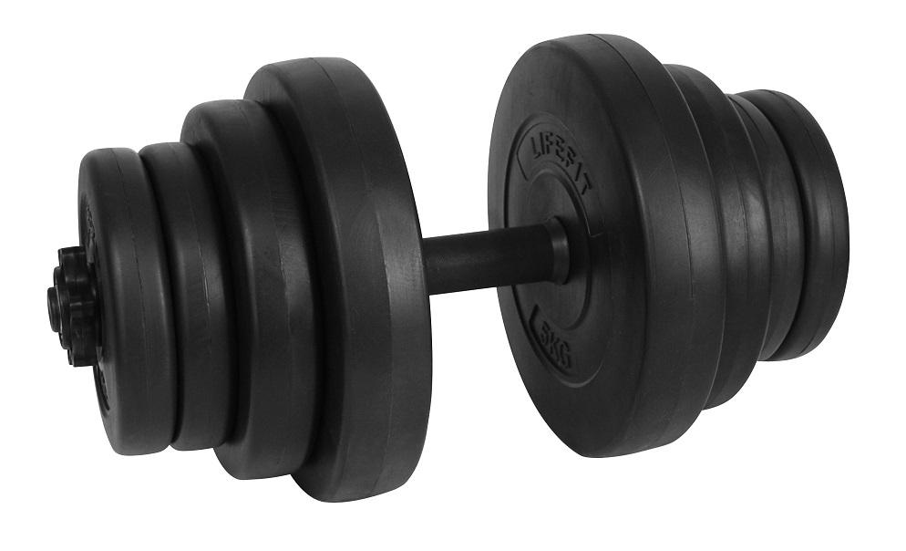 Činka nakládací set LIFEFIT MASTER 20kg