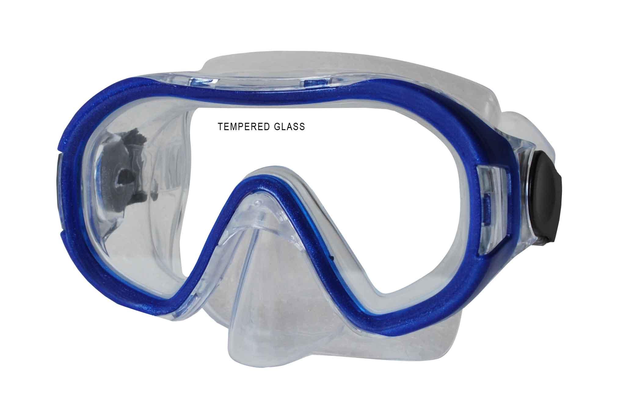 Potápěčská maska CALTER KIDS 168P, modrá