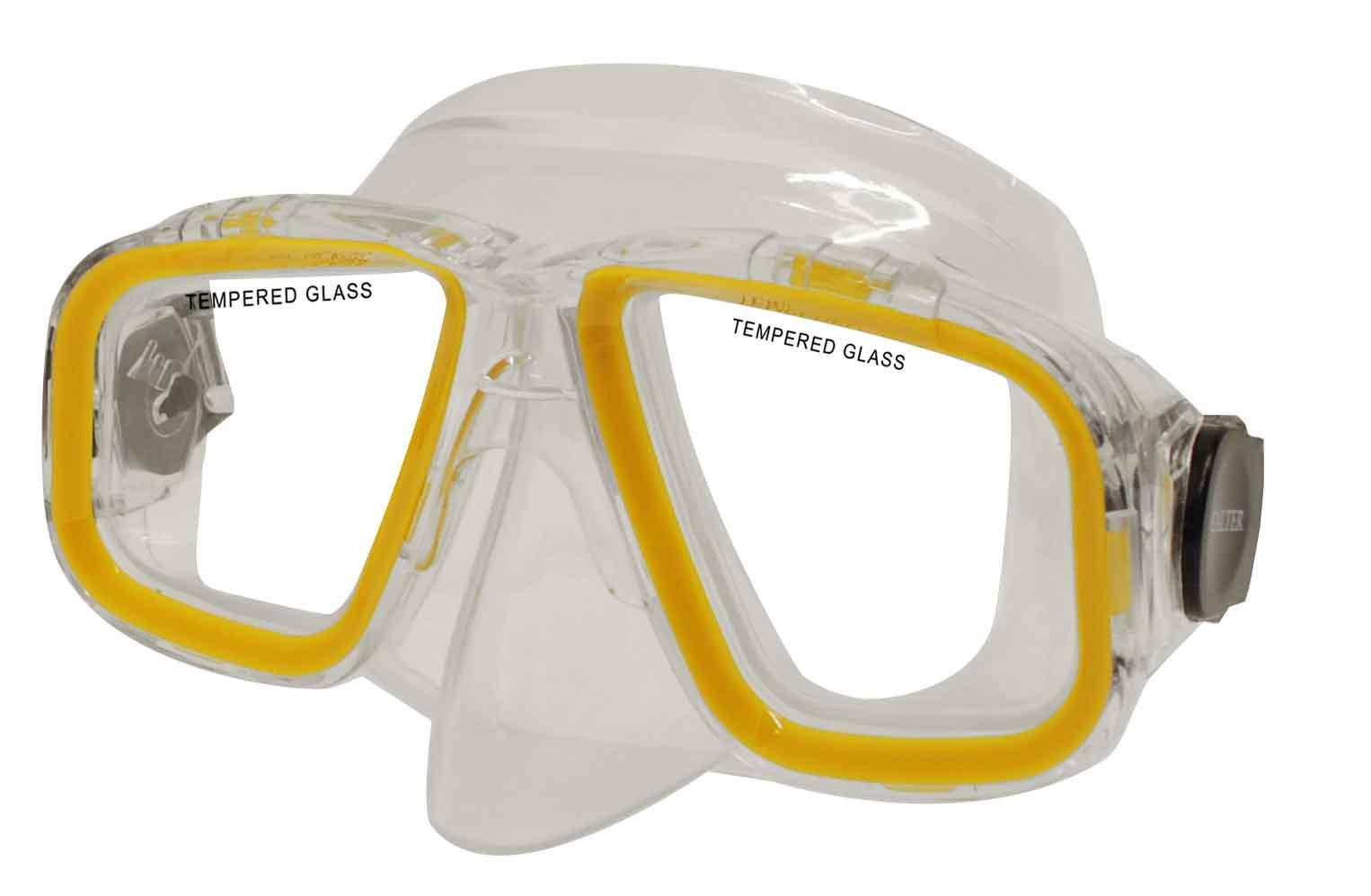 Potápěčská maska CALTER SENIOR 229P, žlutá