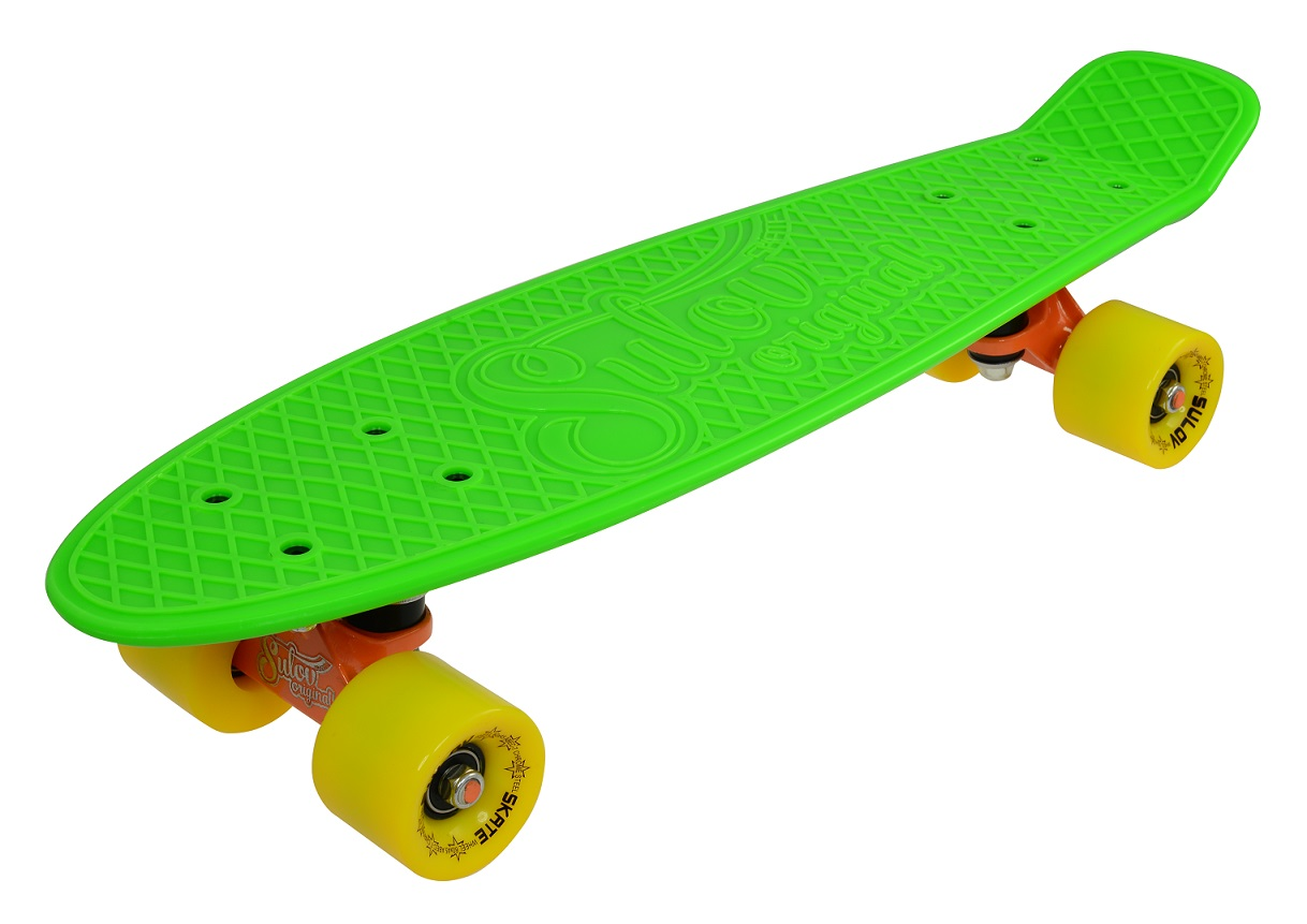 """Penny board 22"""" SULOV NEON SPEEDWAY zeleno-žlutý"""