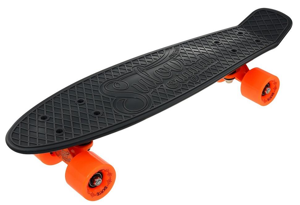 """Penny board 22"""" SULOV RETRO VENICE šedo-oranžový"""