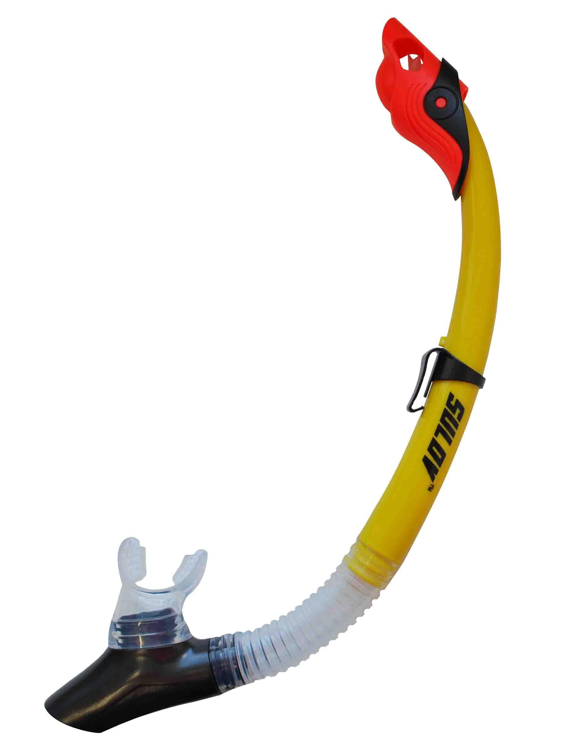Šnorchl CALTER ADULT 117SILICON, žlutý
