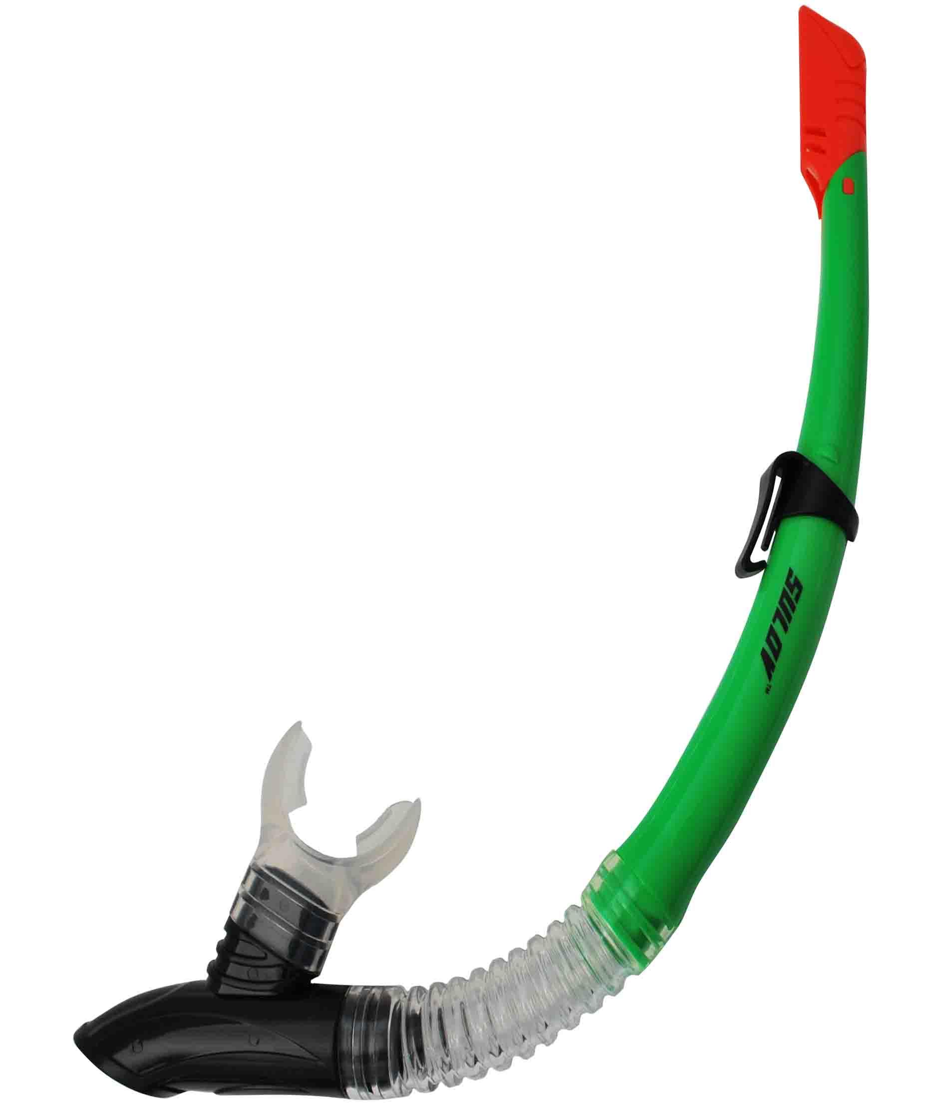 Šnorchl CALTER ADULT 63PVC-SILICON, zelený