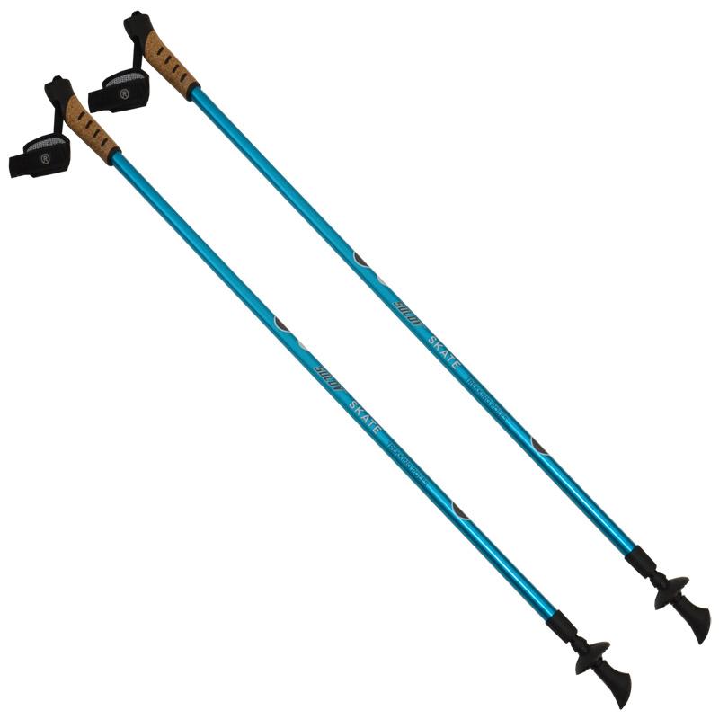 Skatingové hole SULOV SKATE, 2-dílné, pár, modrá