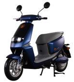 Elektrický motocykl RACCEWAY SMART, modrý-lesklý